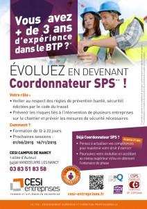 Affiche CSPS CESI entreprises