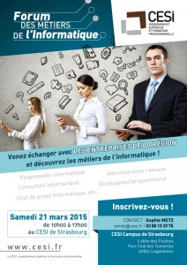 Affiche Forum INFO CESI