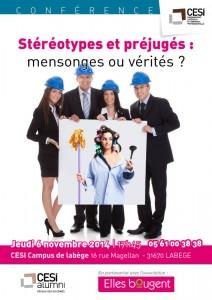 Affiche Stéréotypes CESI