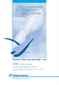 Affiche Rhone-Poulenc 22ème journée scientifique