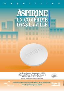 Affiche exposition Aspirine Bayer