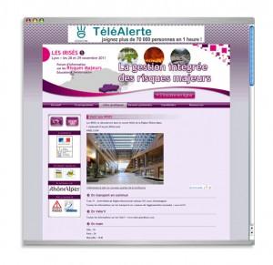 """Site web évènementiel """"Les Irisés"""""""