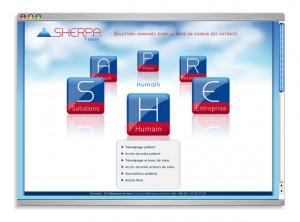 "Site web ""SHERPA"" santé"
