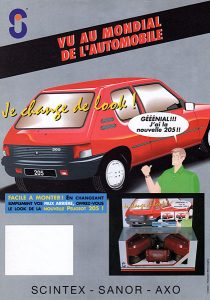 Dessin 205 Peugeot
